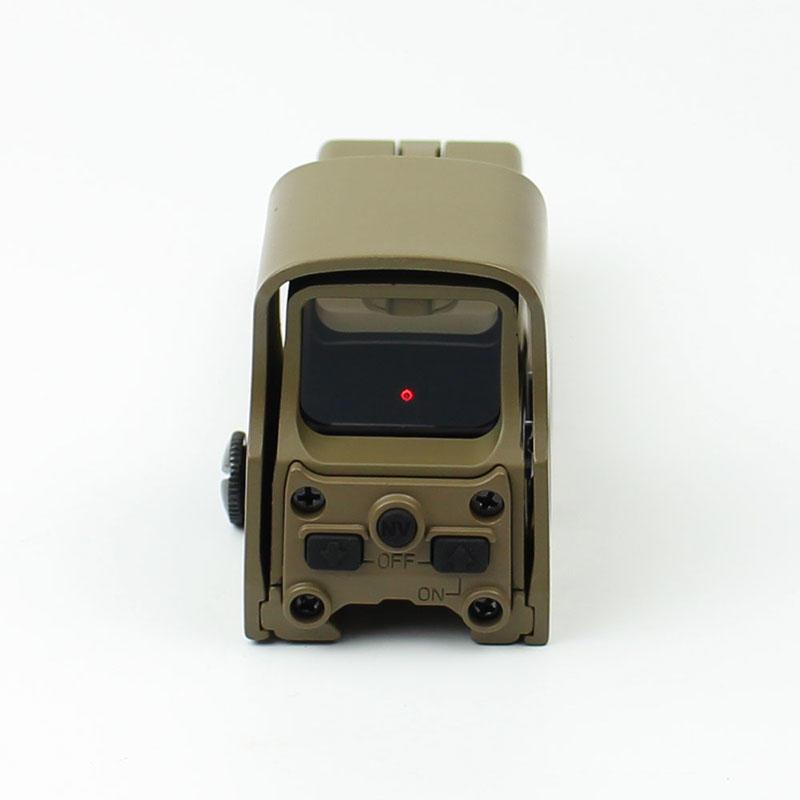 Hot red dot sight reviews 21mm tactical red dot sight power Long Xiang Optics