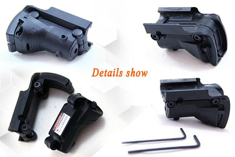 Long Xiang Optics tactical laser pointer mount 1911 grips color