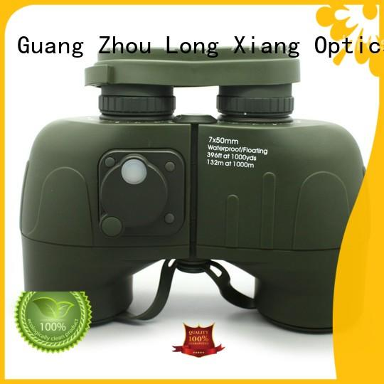 prism military compact waterproof binoculars Long Xiang Optics manufacture
