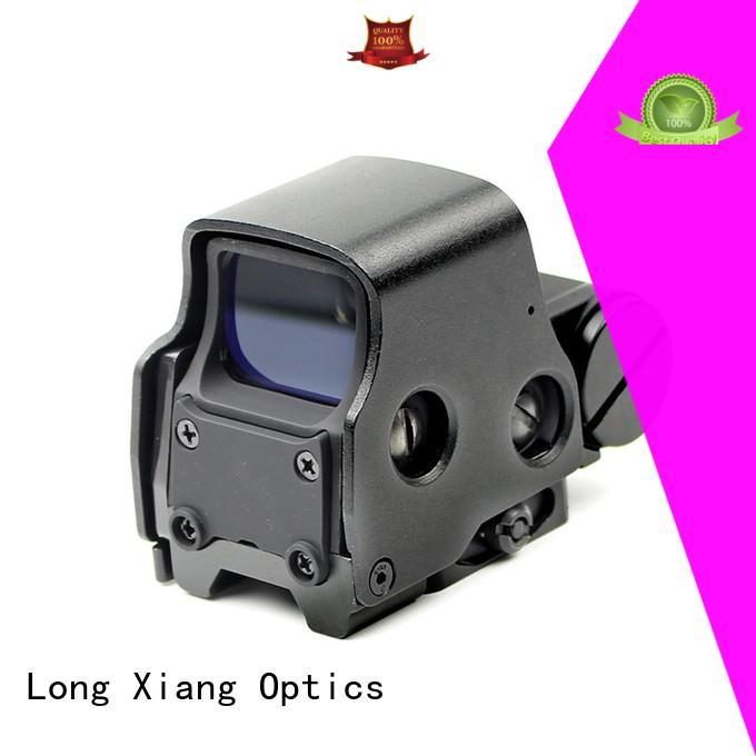 Long Xiang Optics rainproof 1 moa reflex sight factory for rifles
