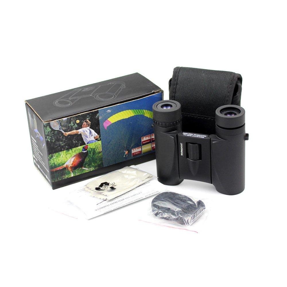 Long Xiang Optics-Travel 8x25 Best Compact Binoculars Ipx4 Water Resistant Mz8x25-3