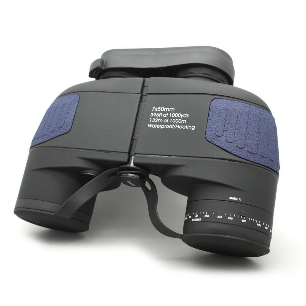 HD Floating In Water 7x50 Marine Binoculars Black  MZ7x50