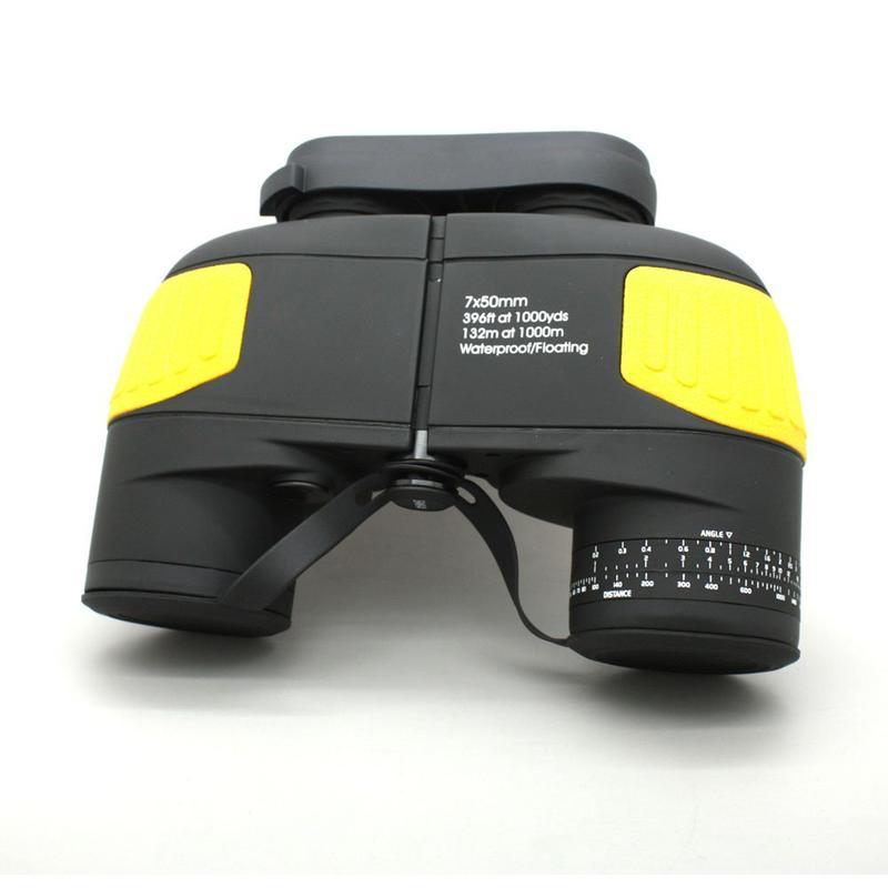 HD Floating In Water 7x50 Marine Binoculars Black  MZ7x50