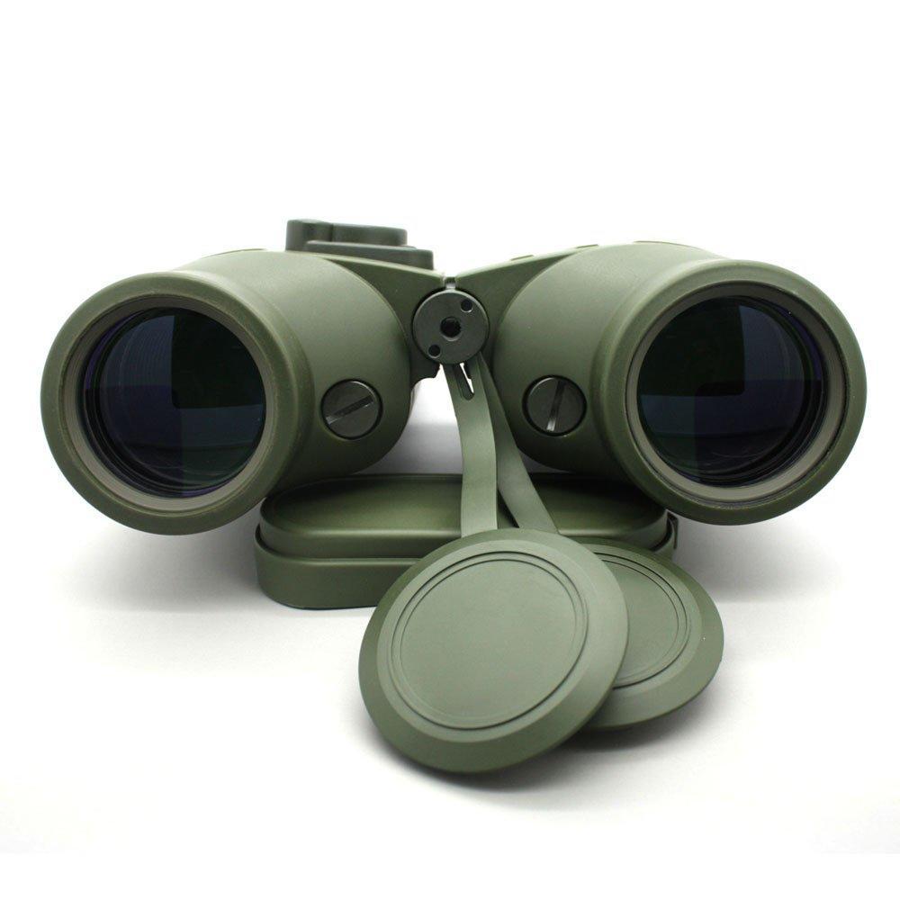 Army Green Mil Spec Porro 7x50 Binoculars With Compass MZ7x50C
