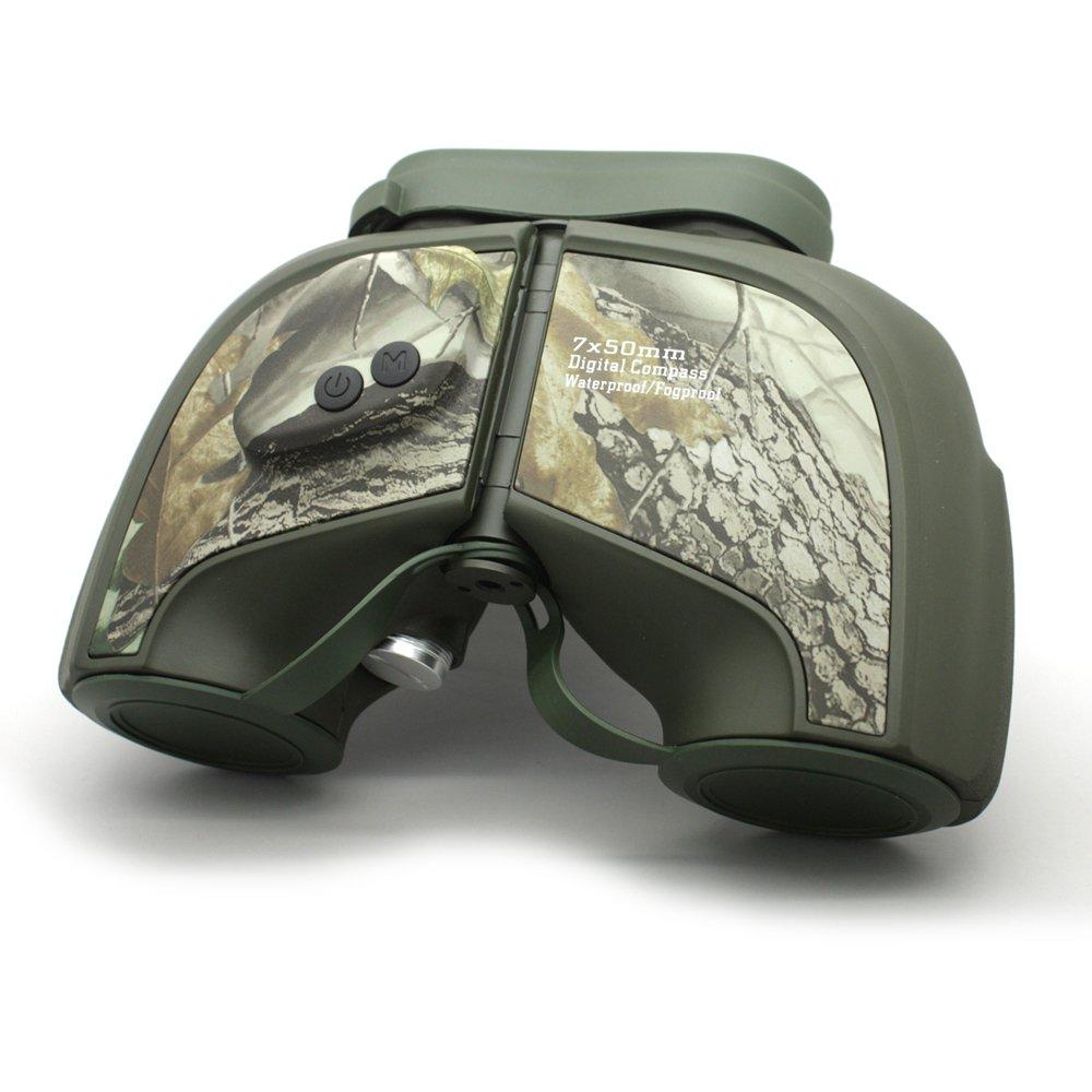 Long Xiang Optics Camouflage Ipx5 Waterproof Military Tactical 7x50 Rangefinder Binoculars MZ7x50D Binoculars image4
