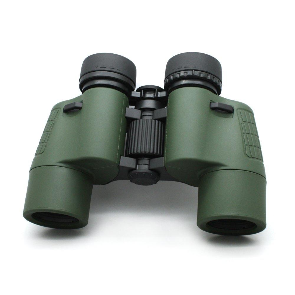 7x35 Ultra Wide Angle Ipx4 Daily Fully Optical Zoom Binoculars Green Color  MZ7x35A