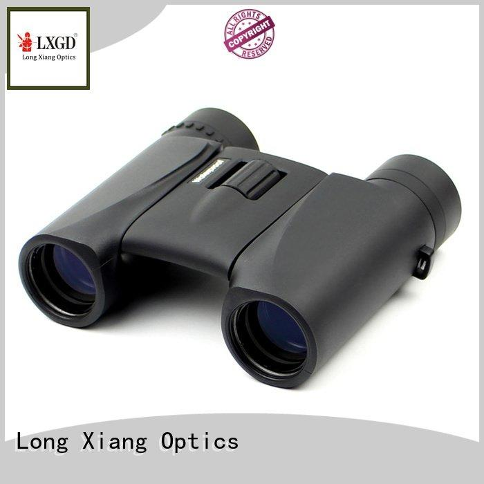 Long Xiang Optics waterproof binoculars yellow travel hd bincouars