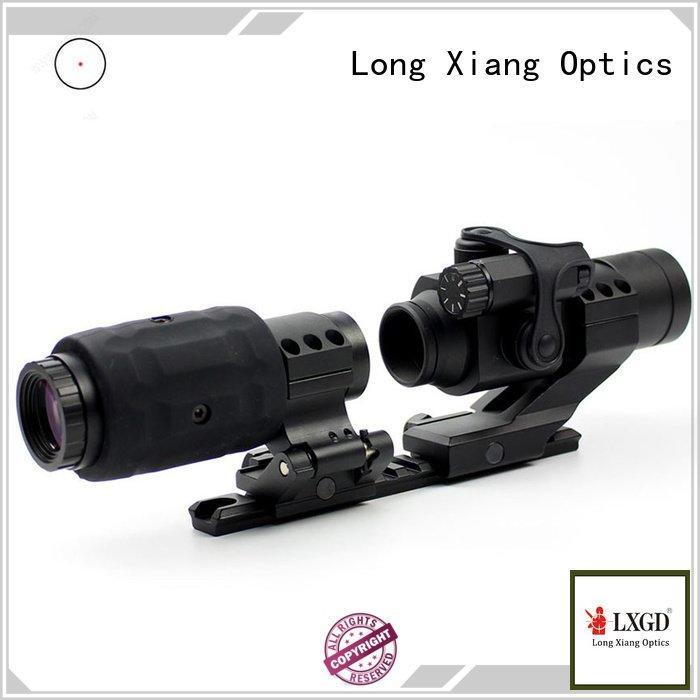 Long Xiang Optics compact rifle tactical red dot sight acog mount