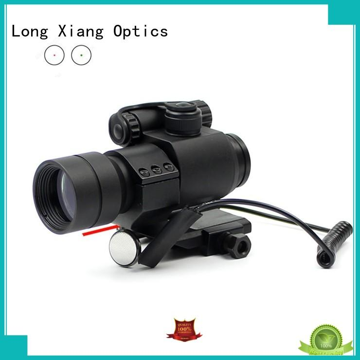 Long Xiang Optics quality red dot scope with magnification new design for firearms