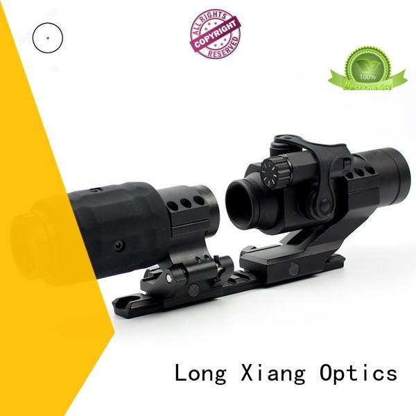 Long Xiang Optics real magnified red dot scope waterproof for firearms