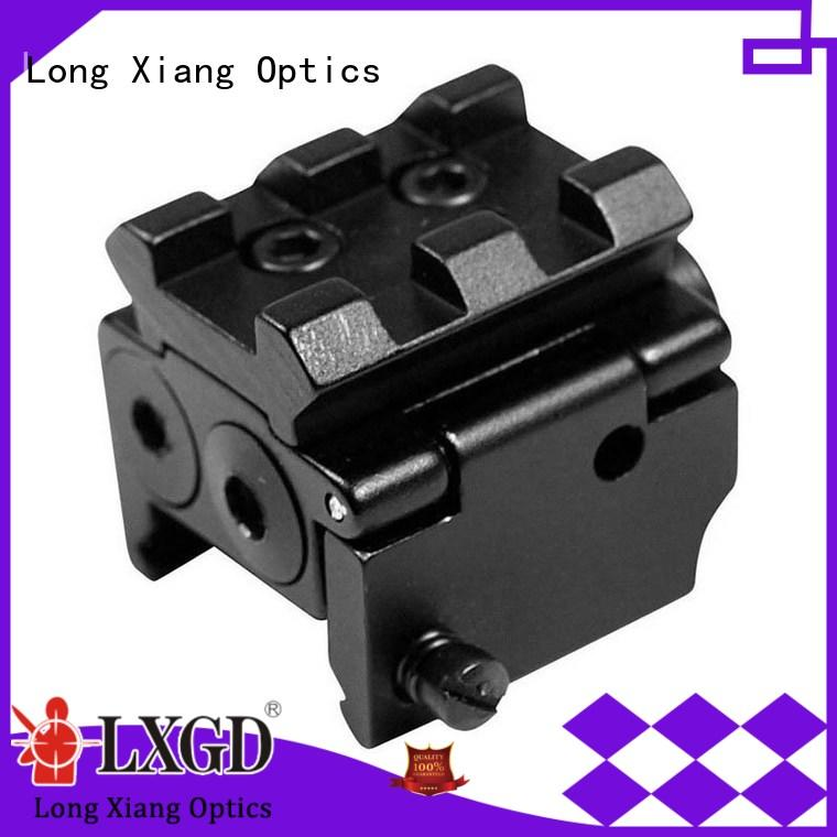 Long Xiang Optics Brand glock on solid tactical flashlight with laser fit
