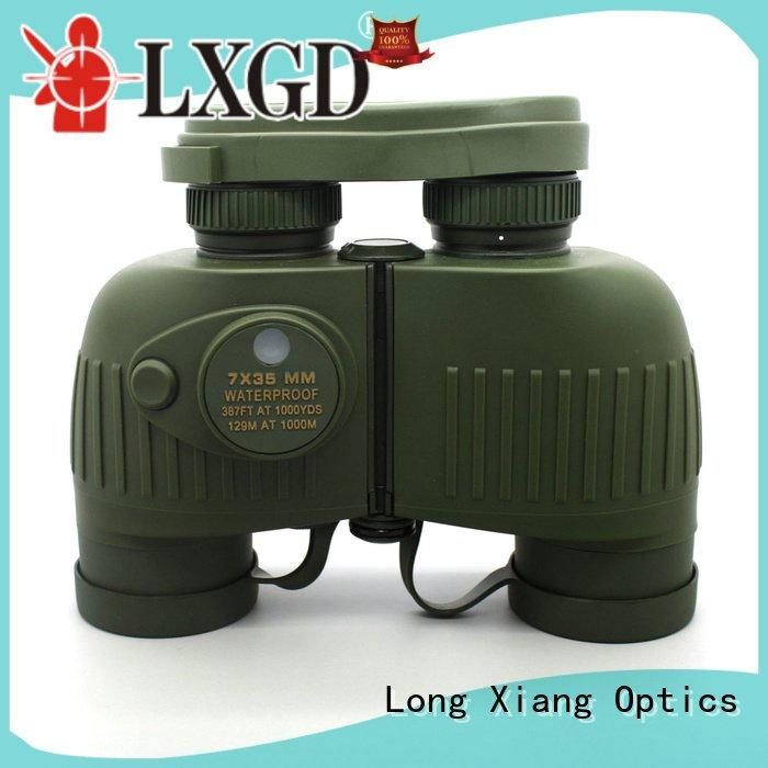 tactical fully camouflage waterproof binoculars Long Xiang Optics
