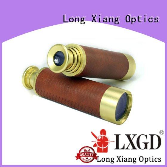Long Xiang Optics Brand hand pocket kids telescopes compact