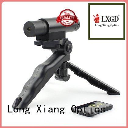 Long Xiang Optics tactical flashlight with laser 5mw glock weaver
