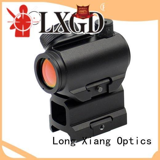 Quality red dot sight reviews Long Xiang Optics Brand reflex tactical red dot sight