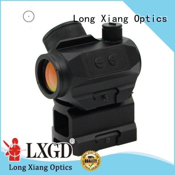 Quality red dot sight reviews Long Xiang Optics Brand ar tactical red dot sight