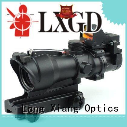 wide red Long Xiang Optics tactical scopes