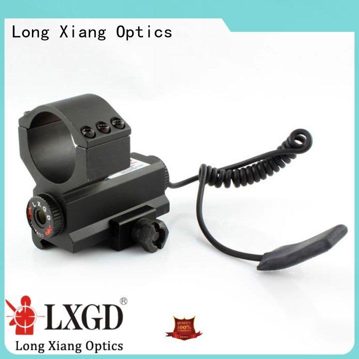Hot tactical flashlight with laser sights fit mini Long Xiang Optics Brand