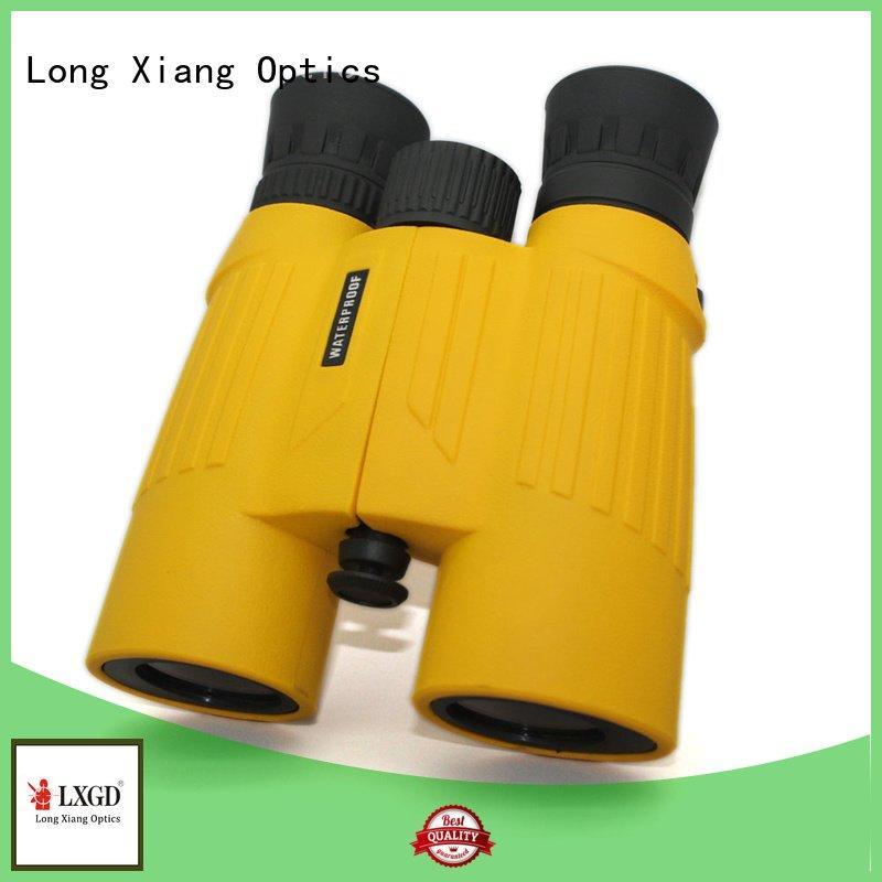 compact waterproof binoculars angle Long Xiang Optics Brand waterproof binoculars