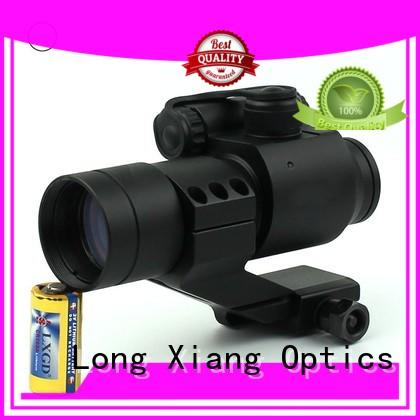 Long Xiang Optics foldable 2 moa red dot sight new design for rifle