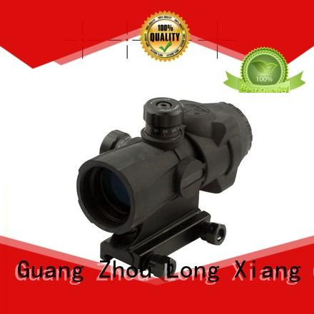 Custom sight circle tactical scopes Long Xiang Optics fiber