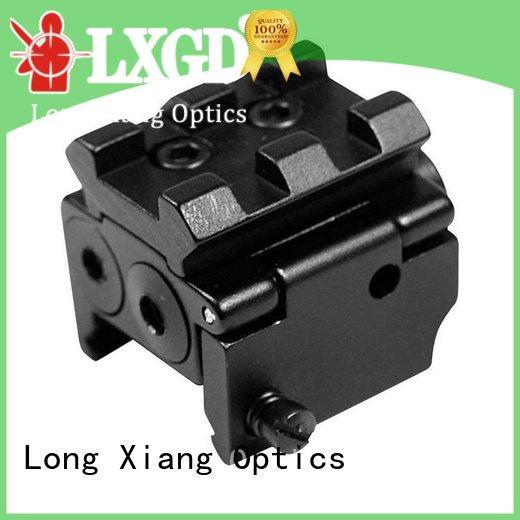 tactical flashlight with laser m92 collimator green crimson Long Xiang Optics