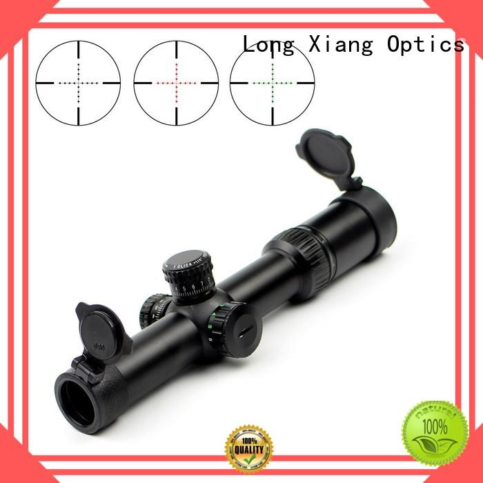 fully multi coated deer hunting scopes manufacturer for long diatance shooting Long Xiang Optics