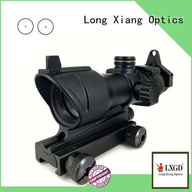 acog tactical airsoft style Long Xiang Optics tactical red dot sight