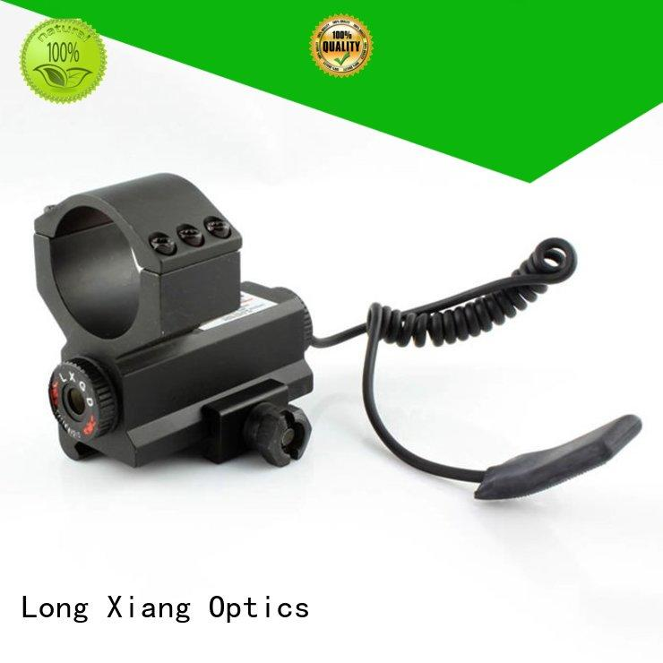 Quality Long Xiang Optics Brand tactical flashlight with laser solid collimator