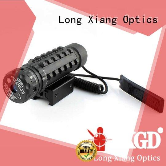 tactical flashlight with laser m92 color fit weaver Long Xiang Optics