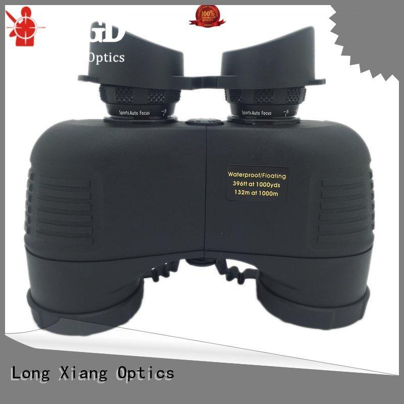 bath filled Long Xiang Optics waterproof binoculars