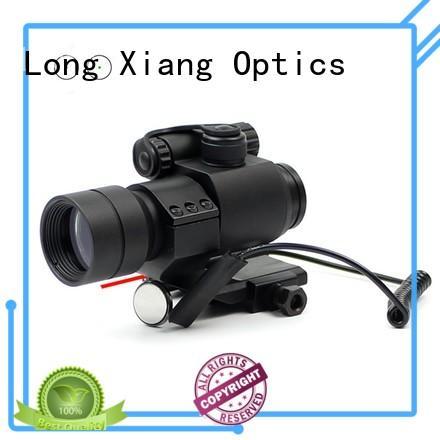 Long Xiang Optics lightweight fde red dot sight new design for ipsc