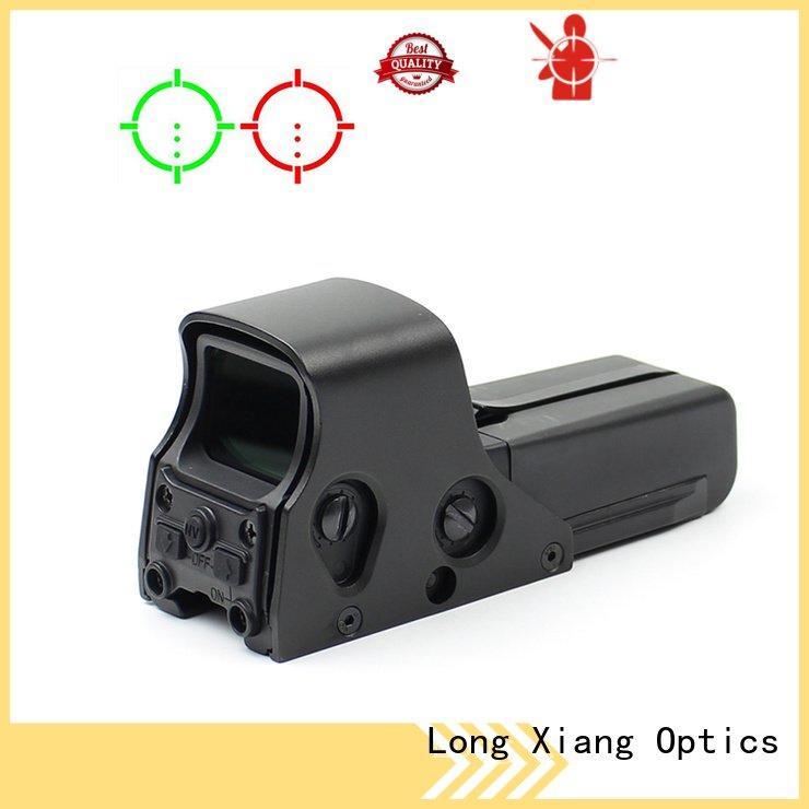 red dot sight reviews waterproof lightweight tactical red dot sight Long Xiang Optics Brand