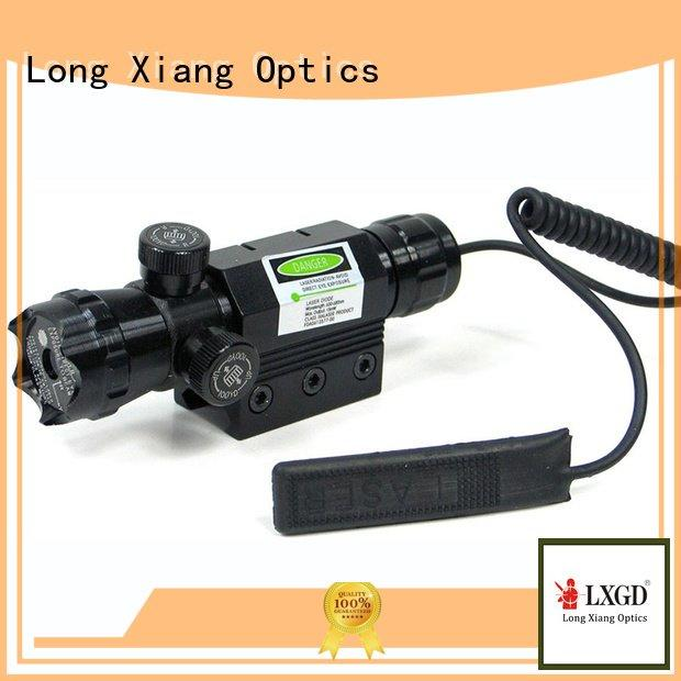 trace tactical laser pointer Long Xiang Optics tactical flashlight with laser