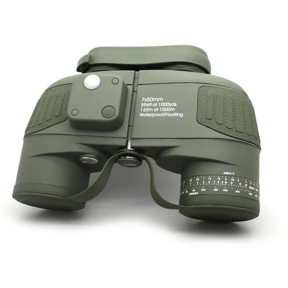 Long Xiang Optics Army Green Celestron Cometron 7x50 Powerful Binoculars With Rangefinder MZ7x50B info