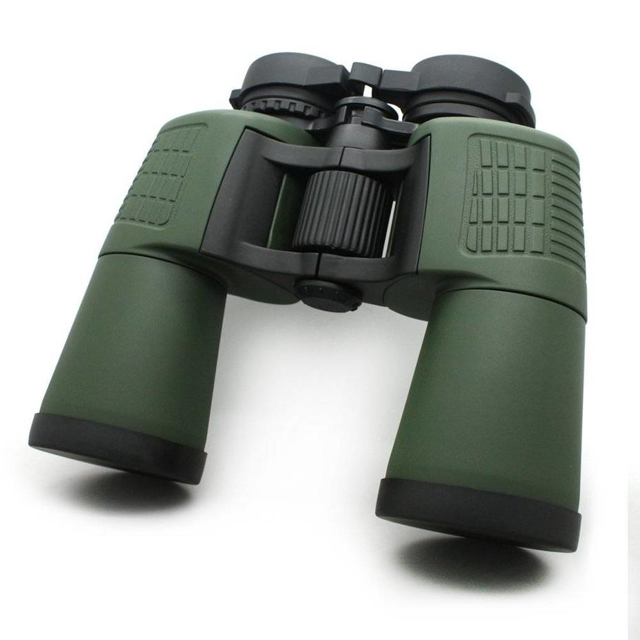 The guide of Water Resistant 10x50 Long Range Binoculars With Eye Caps Green Color MZ10x50