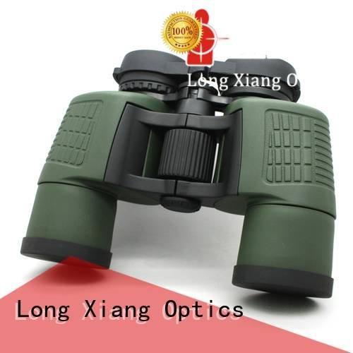 Hot compact waterproof binoculars military waterproof binoculars daily Long Xiang Optics