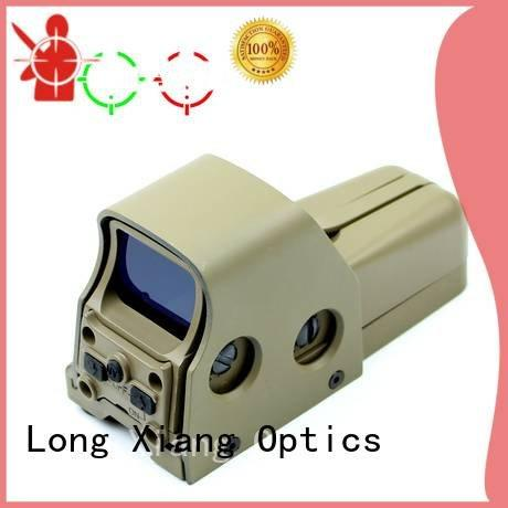 dot 21mm tactical red dot sight laser Long Xiang Optics