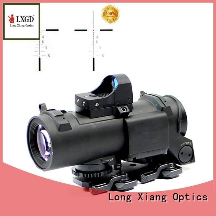 Long Xiang Optics Brand advanced dot vortex tactical scopes power fiber