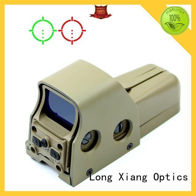 Long Xiang Optics rainproof foldable reflex sight black matt for AR