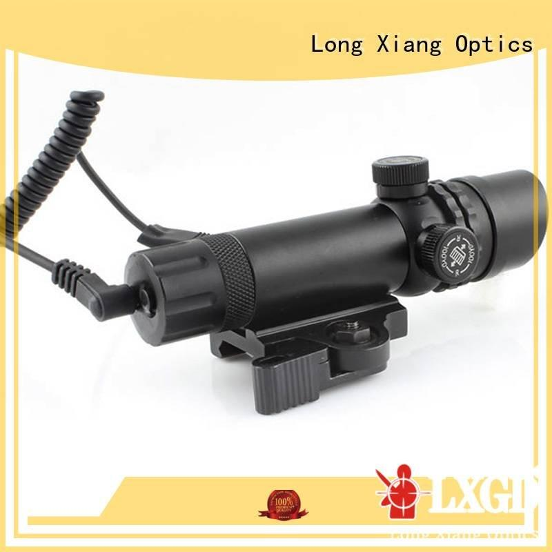 Hot tactical flashlight with laser weaver adapter punisher Long Xiang Optics Brand