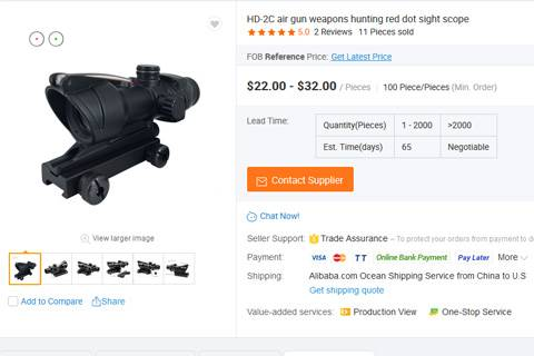 Red dot scope hunting customer review