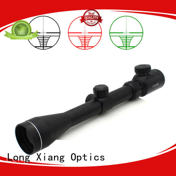Long Xiang Optics aluminum 6063 long scope wholesale for long diatance shooting