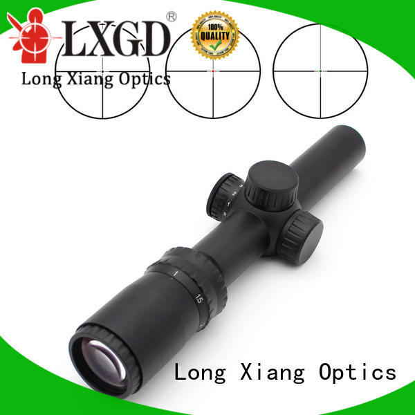 Long Xiang Optics adjustable best long distance scope manufacturer for hunting