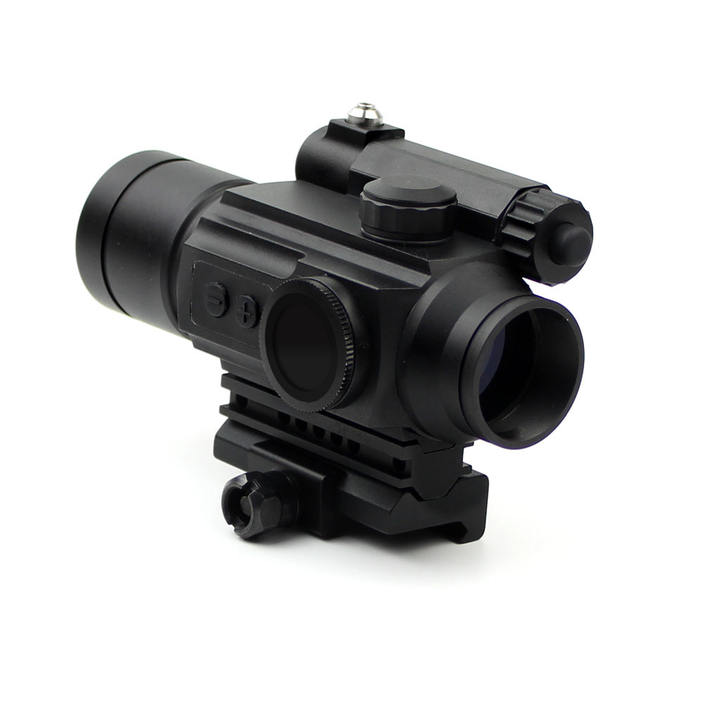 Long Xiang Optics-Red Dot Sight Scope Laser Sight Combo With Rail Mount Hd-25-2