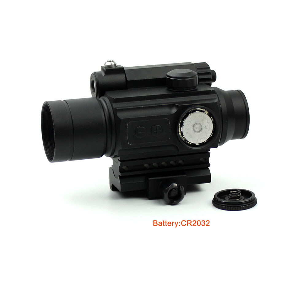 Long Xiang Optics-Red Dot Sight Scope Laser Sight Combo With Rail Mount Hd-25-4