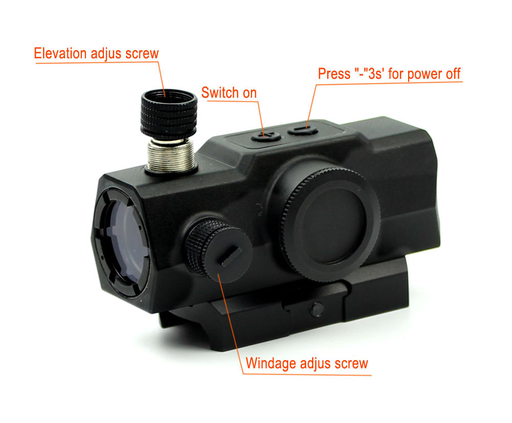 Long Xiang Optics-Manufacturer Electro Dot Sight 3moa For Compact Rifle HD-23-3