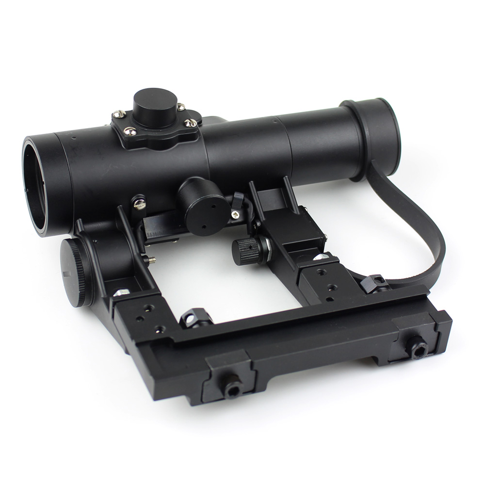 Long Xiang Optics-Military Tactical Scope For Ak 47 Gun Fmc Red Dot Sight 1x24