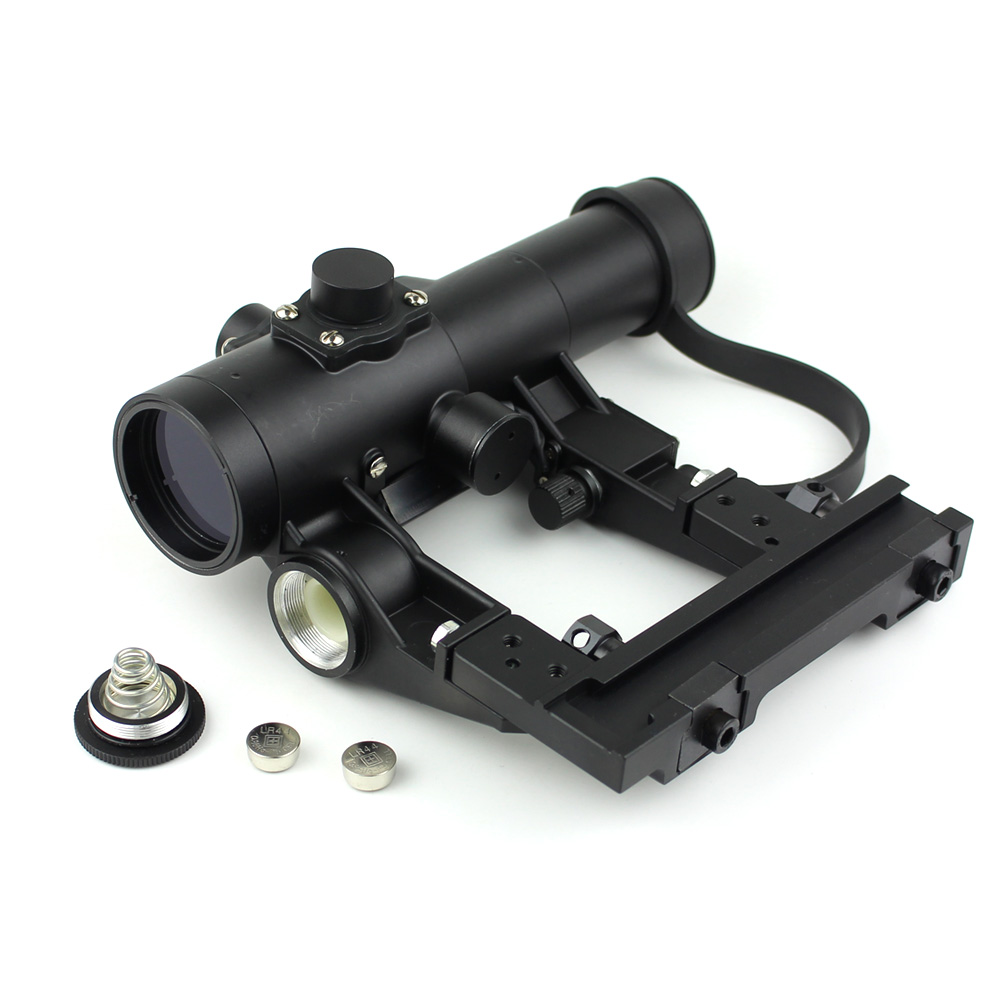 Long Xiang Optics-Military Tactical Scope For Ak 47 Gun Fmc Red Dot Sight 1x24-2