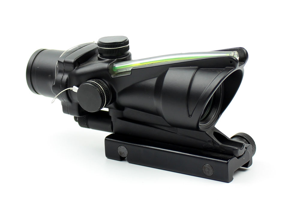 Long Xiang Optics-1x32 Scopes Sight Optics Real Fiber R or G Dot Scope w2011mm rail-3